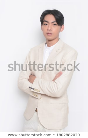camisón · beige · blanco · nina · sexy - foto stock © pzaxe