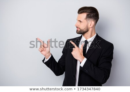 Profile of a businessman indicating copyspace Stock photo © photography33