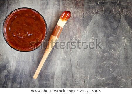 barbecue sauce basting brush Stock photo © zkruger