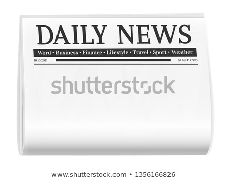 Front Page News Stock photo © cteconsulting