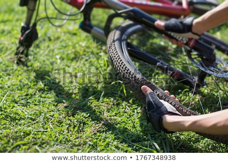 bicycle tire pry Stock photo © FOKA