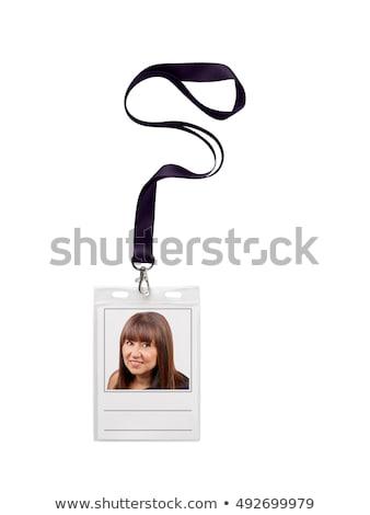 プラスチック 3dのレンダリング 孤立した 白 ビジネス オフィス ストックフォト © cherezoff