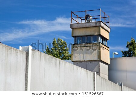 Berlin wall wewnętrzny ściany architektury wolności konkretnych Zdjęcia stock © photocreo