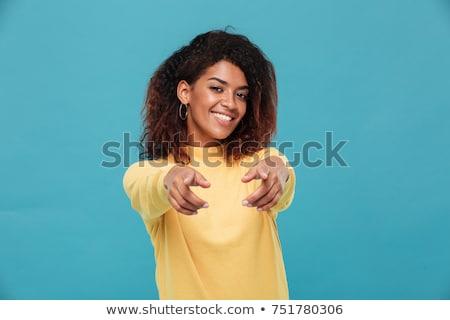 giovani · femminile · punta · ritratto · attrattivo - foto d'archivio © stockyimages