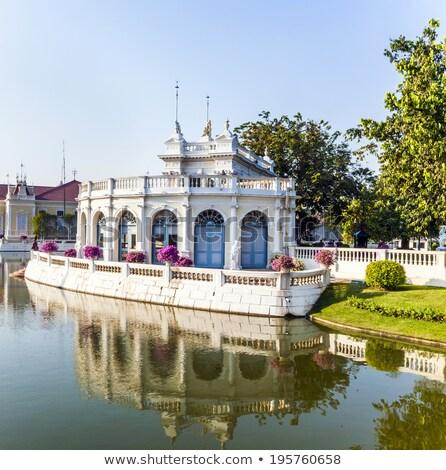 Mooie gebouwen park knal koninklijk Stockfoto © meinzahn