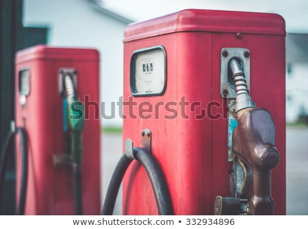 old gas stations Stock photo © tracer