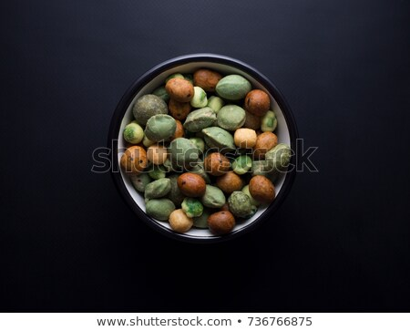Verde wasabi ervilhas textura fundo asiático Foto stock © njnightsky