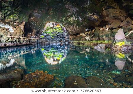 Канарские острова Испания пещере воды природы пейзаж Сток-фото © meinzahn