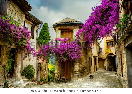 Old town in provence Stock photo © Dar1930