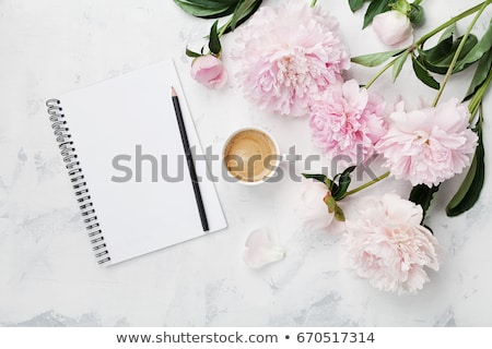 Bloc de notas café escritorio oficina ratón tecnología Foto stock © wavebreak_media