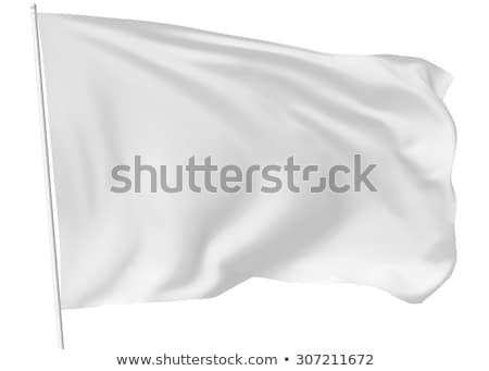 branco · ao · ar · livre · pena · bandeira · publicidade · bandeira - foto stock © ojal