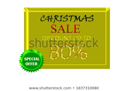Limited Deal golden Vector Icon Design Stock photo © rizwanali3d
