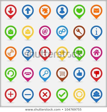 Сток-фото: часто · задаваемые · вопросы · зеленый · вектора · икона · кнопки · веб