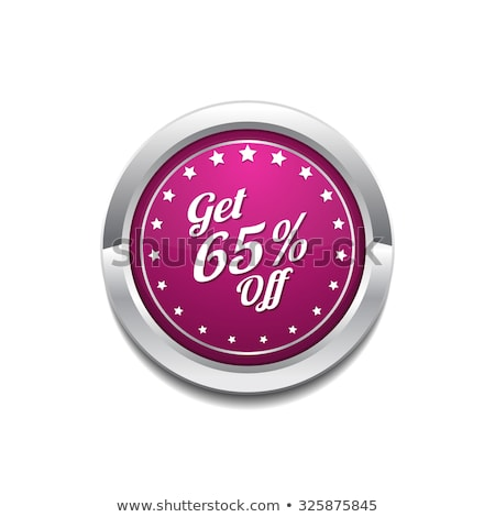 Get 65 Precent Off Pink Vector Icon Stock photo © rizwanali3d