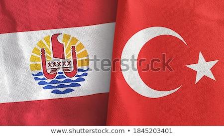 turkey and french polynesia flags stock photo © istanbul2009