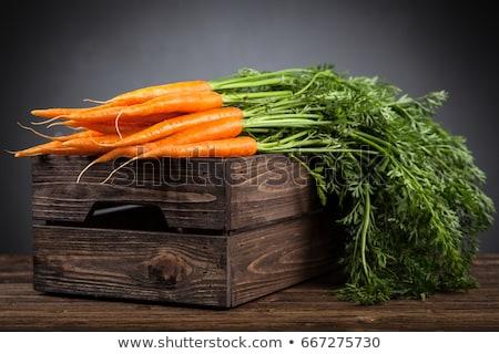 Taze organik havuç gıda araç Stok fotoğraf © Klinker