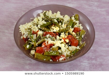 Cheese and tomato salad Stock photo © Digifoodstock