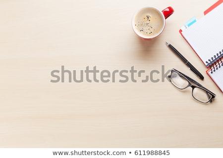 Siker fa asztal szó üzlet iroda gyermek Stock fotó © fuzzbones0