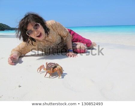 Peón isla playa paraíso animales mar Foto stock © maxmitzu
