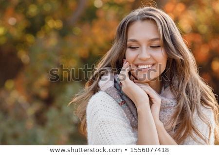 beautiful natural woman posing stock photo © pawelsierakowski