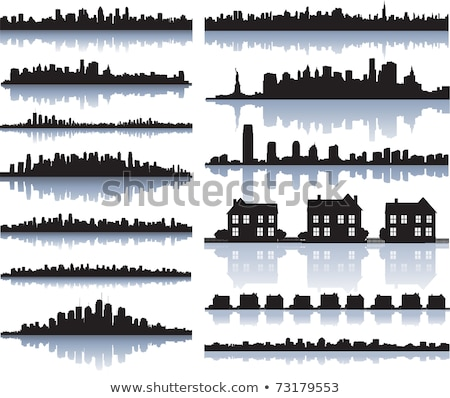 d tail manhattan skyline fen tres bureau b timent photo stock joerg hackemann. Black Bedroom Furniture Sets. Home Design Ideas
