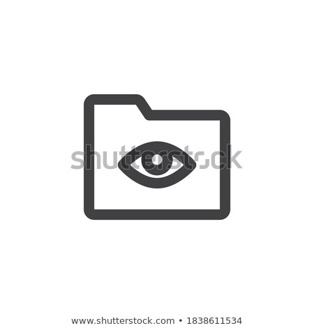 Security Archive Concept With Eye Stock photo © sdCrea
