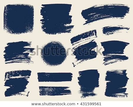 vector ink paint smudge design art Stock photo © SArts