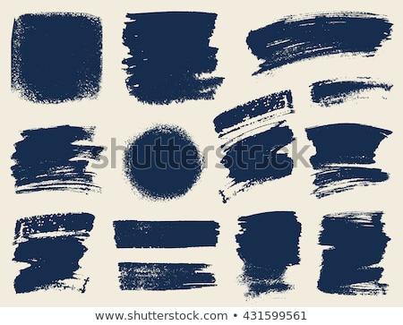 zwarte · verf · aquarel · water · papier · kunst - stockfoto © sarts