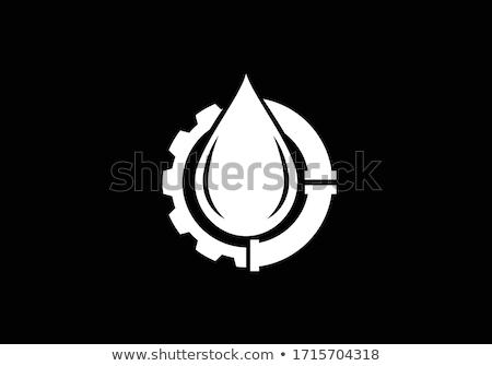 бурение · компания · дизайна · логотип · 10 · бизнеса - Сток-фото © sdCrea
