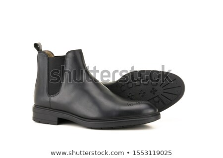 New elegant boot on a white background Stock photo © ISerg