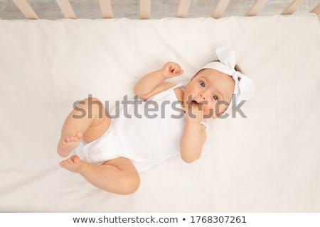baby · binnenshuis · jongen · glimlachend · cute · kaukasisch - stockfoto © monkey_business