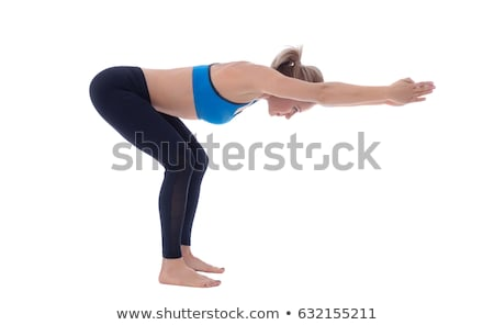 stretching of posterior chain muscles stock photo © blanaru
