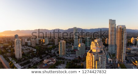 City View of Vancouver and Burnaby BC Stock photo © davidgn