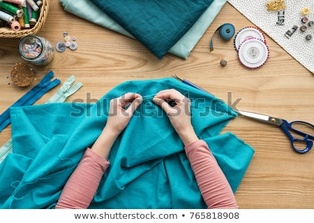 Fabric Sewing Stock photo © lenm