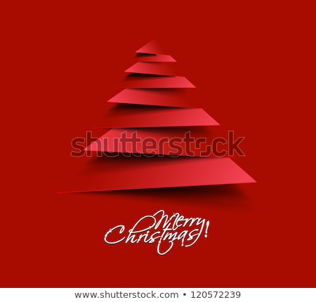 christmas and new year retro shape icon decoration stock photo © cienpies