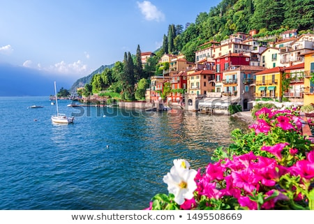 Como Lake ( Lago di Como), Italy Stock photo © boggy
