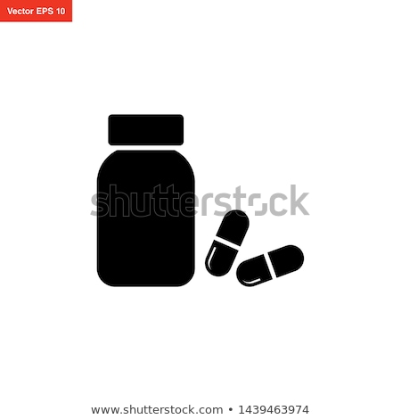 kapszula · csomag · terv · orvosi · konténer · olaj - stock fotó © smoki