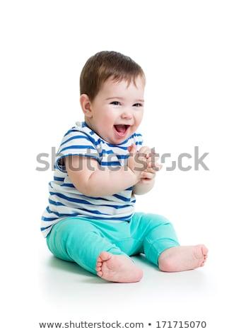 Сток-фото: студию · портрет · ребенка · мальчика · счастливым