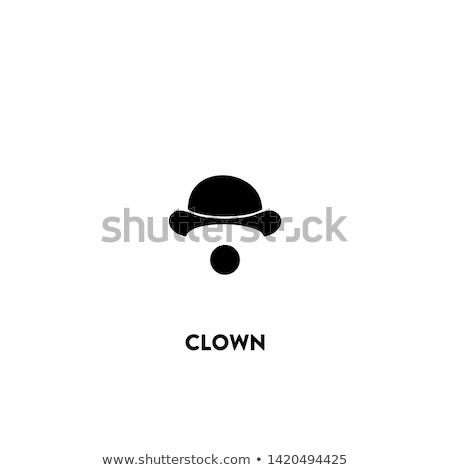 ピエロ アイコン 白 顔 幸せ 男性 ストックフォト © smoki