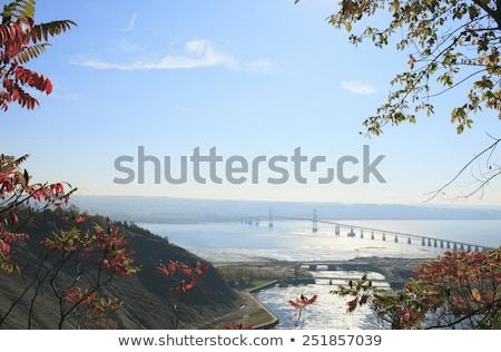 Ponte rio Quebec Canadá água Foto stock © Lopolo