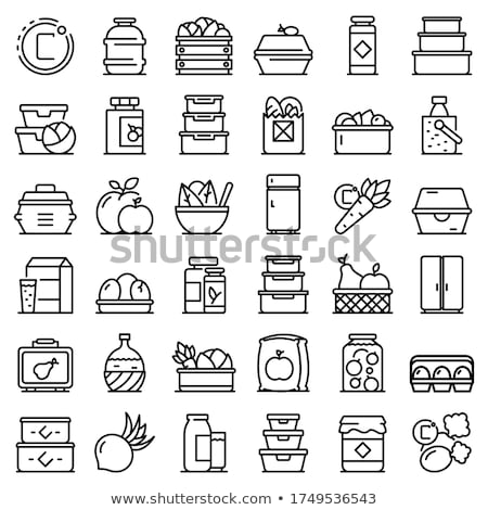 vector set of rices Stock photo © olllikeballoon
