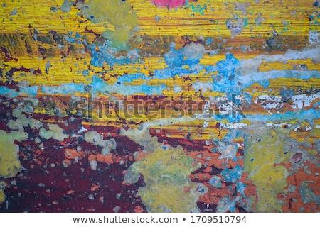 Rust Colored Stripes Stock photo © craig