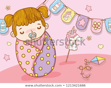 incinta · ragazza · giocattolo · cross · madre · piano - foto d'archivio © Paha_L
