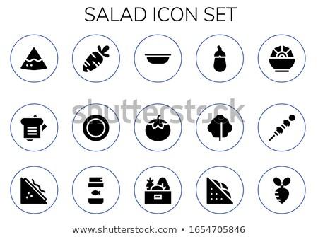 vert · laitue · salade · 15 · alimentaire · feuille - photo stock © TheProphet