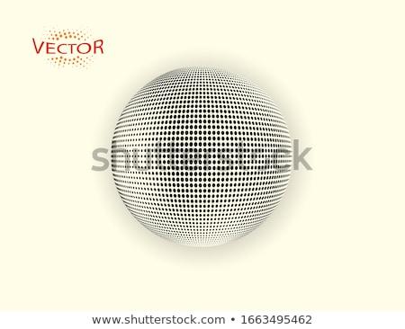Foto stock: Estrela · esfera · cor · estrelas · em · torno · de · céu