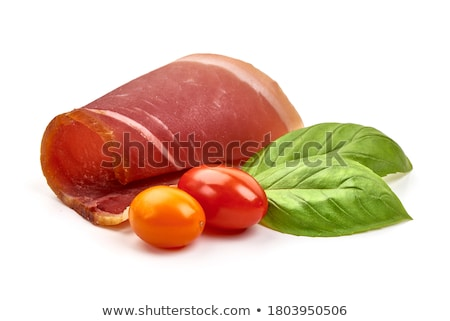 Jamon and Greens Stock photo © zhekos