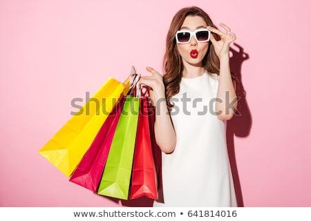 Kadın yaz alışveriş güzel kadın uygunluk güzellik Stok fotoğraf © Lessa_Dar
