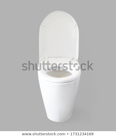 Toilet bowl isolated on white Stock photo © shutswis