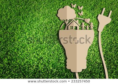 緑 エコ にログイン 蝶 自然 葉 ストックフォト © djdarkflower