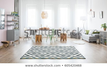 Rug on the floor Stock photo © zzve